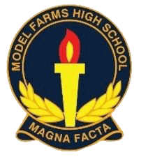 Model Farms High School logo
